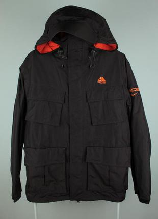 Оригинальная превосходная курточка nike fit storm acg jacket 2...