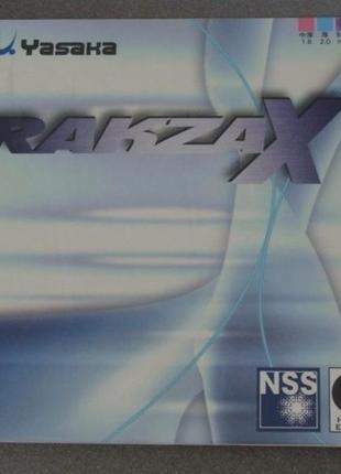Накладки настольный теннис YASAKA Rakza Х Х-soft