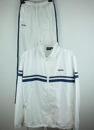 Шикарный винтажный спортивный костюм ellesse 90s