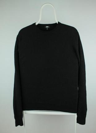 Оригинальный кашемировый свитер uniqlo