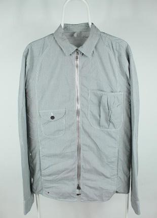 Оригинальная стильная рубашка paul smith red ear shirt in grey...