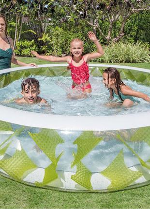 Детский надувной бассейн Intex 57182 Колесо 229 х 56 см