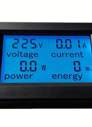 Счётчик энергии, ваттметр PZEM-021 LCD AC 80V-260V