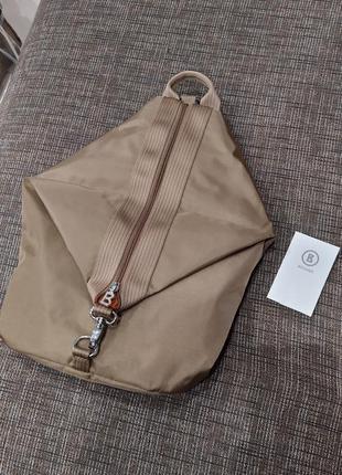 Новый рюкзак трансформер премиум бренда bogner модный цвет сумка