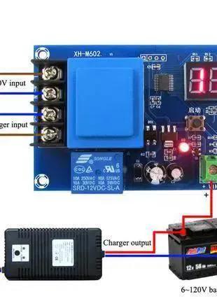Универсальный контроллер заряда аккумуляторов от 220V