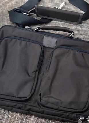 Новая премиум сумка для ноутбука bogner подойдёт для документо...