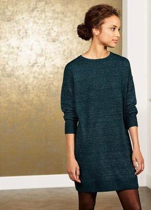 Вязаное платье свитер l 44-46 euro (50-52) esmara, германия