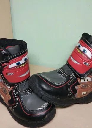 Ботинки сапоги демисезонные тачки Маквин
