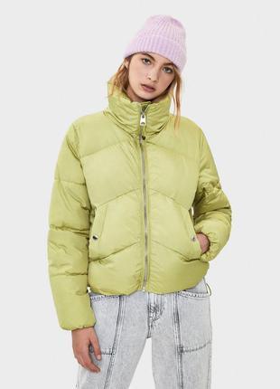 В наличии новая объемная куртка оверсайз bershka
