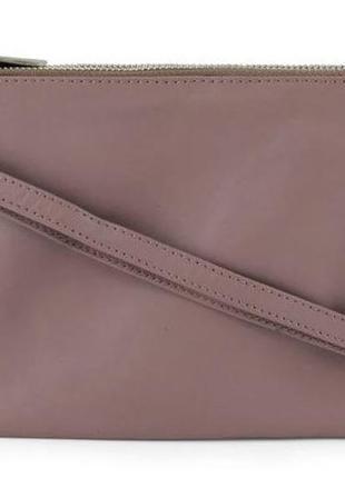 Сумка женская кожаная кросс боди коричневая re: designed by dixie
