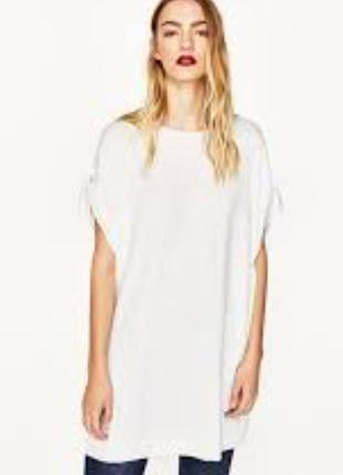 Плаття футболка zara
