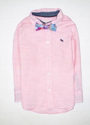 Рубашка h&m на 2-3г