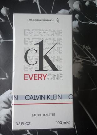 Туалетная вода еveryone calvin klein 100 ml