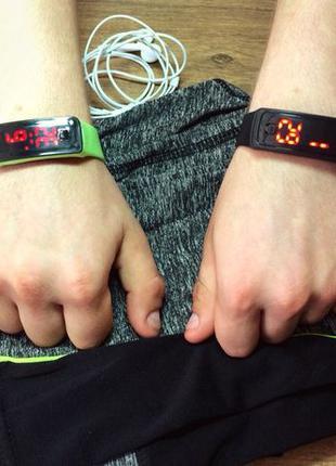 Led часы LED watch спортивные часы