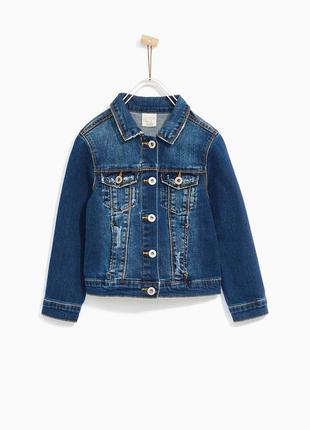 Стильная джинсовая куртка джинсовка