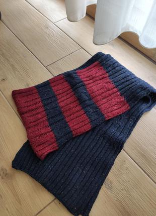 Вязаный мужской шарф reserved