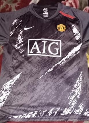 Футболка nike fc manchester united