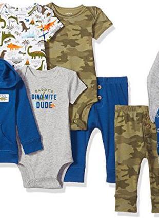 Набор одежды для новорожденных carters комплект из 9 вещей на ...