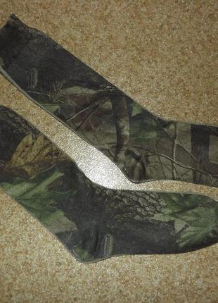 Носки в охотничьем камуфляже realtree