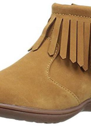 Ботинки us 8 eur 24 30 стелька 15, 5 см сапожки carters для де...