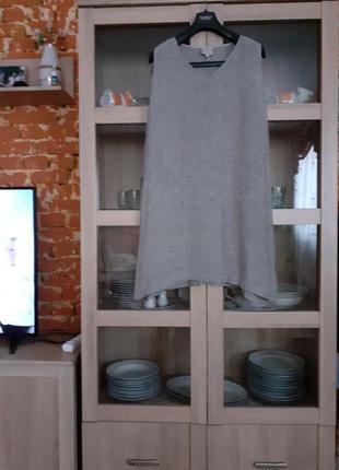 Симпатичное котоново-вискозное платье большого размера индия