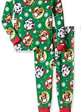 Пижама детская 1 2 3 года eu 80 86 92 щенячий патруль paw patr...