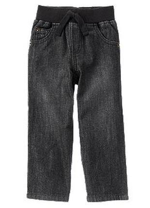 Джинсы детские на резинке штаны crazy8 18 24 месяца 1 2 года д...