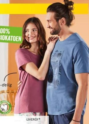 Пижама костюм для дома шорты футболка р.евро 48 50 м livergy г...