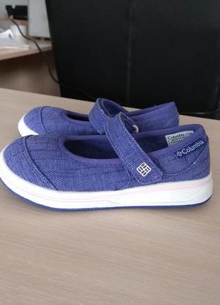 Оригинал columbia. мокасины детские eur 26 16 см туфли в школу...