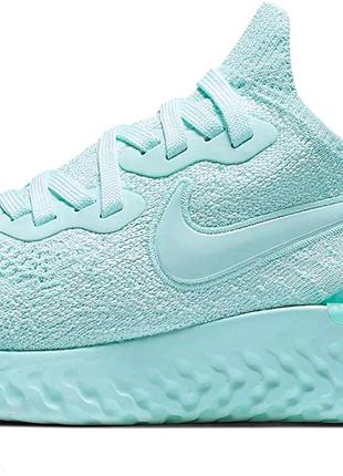 Nike Epic React Flyknit 2 Teal Tint женские кроссовки