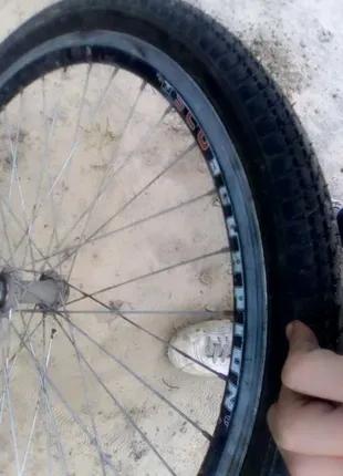 Продам 26-задние колесо на спортивный велосипед