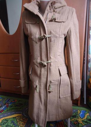 Шикарное пальто дафлкот