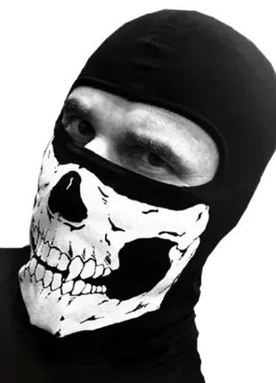 Балаклава,подшлемник,маска лыжная,горнолыжная с черепом 0695