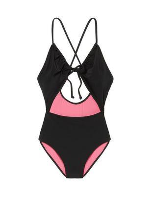 Ретро стиль от victorias secret pink купальник xs s м виктория...