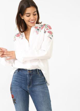 Нова рубашка-вишиванка pimkie р. s-м