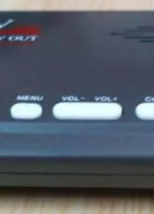 ТВ тюнер DVB-T2 к монитору VGA