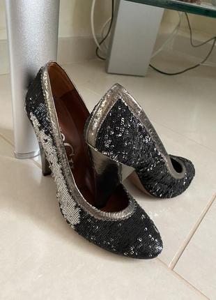 Туфли эксклюзив кожаные дизайнерская вещь дорогой бренд pago g...