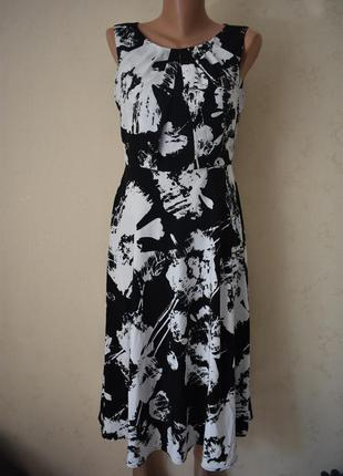 Новое красивое платье с принтом papaya