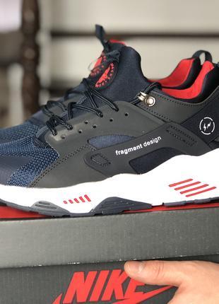 Модные кроссовки Найк Nike Huarache мужские р 41-46, SF8950-52