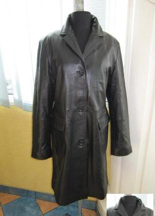 Классическая женская кожаная куртка espriт. германия. лот 791