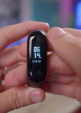 Аналог!Фитнес браслет M4!Xiaomi MI Band 4 Смарт часы Ксиоми Банд