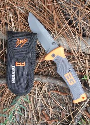 Складной нож Gerber Scout Bear Grylls Лучший нож