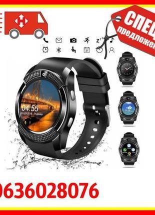 Уcмные смарт часы Smart Wath V8