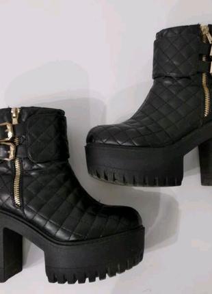 Ботильоны, весенние ботинки