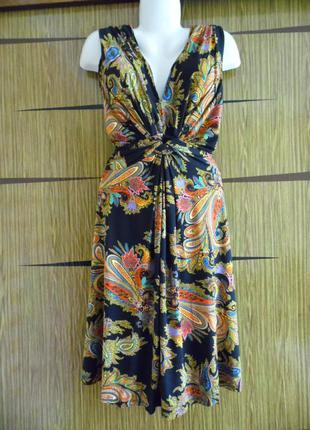 Платье лето новое fever размер 14(42) – идет на 48-50.