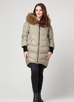 Зимняя куртка пуховик flash geo