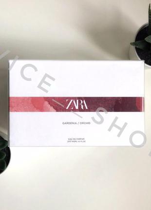 Zara orchid & gardenia духи парфюмерия туалетная вода