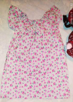 Летнее платье для девочки 2-3 лет