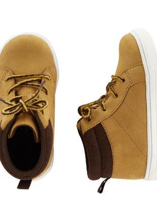 Ботинки детские carters eur 31 32 стелька 19, 5 20, 5 см хайто...