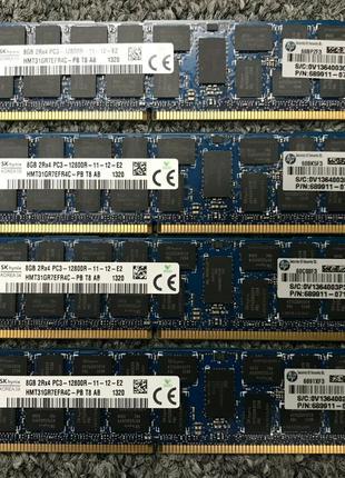 Память DDR3 PC3-12800R (1600MHz) ECC REG